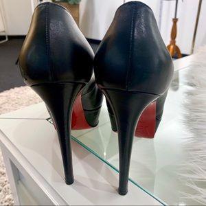 Christian Louboutin Shoes - Christian Louboutin Black Platform Pumps 37.5